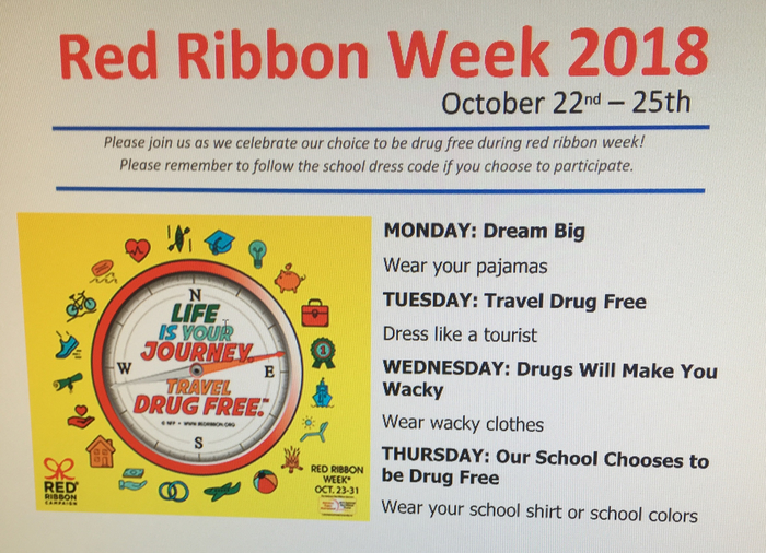 Red Ribbon Week-Elementary